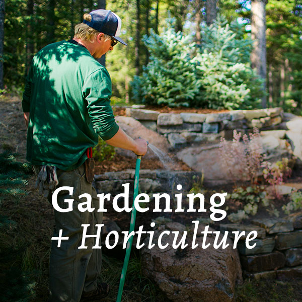 Gardening & Horticulture Call to Action