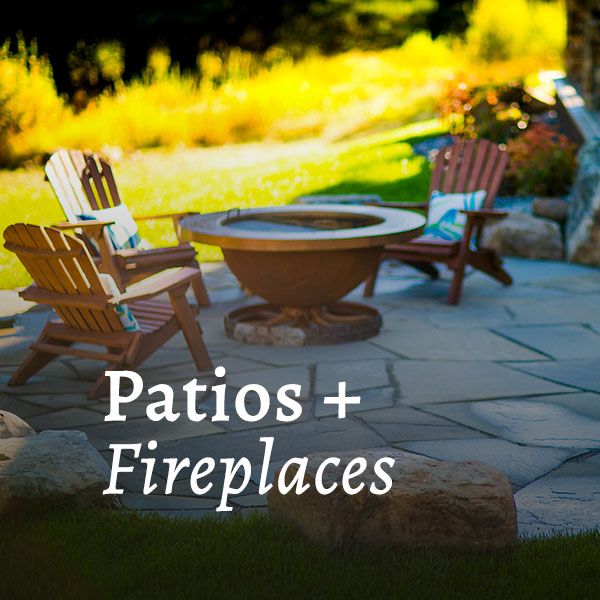 Patios & Fireplaces Call to Action