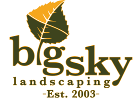 Big Sky Landscaping Logo